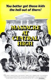 Hey, who's up for a three and a half hour conversation about 'Massacre at Central High' (1976)?