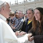 So Patti Smith met the Pope!